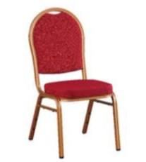 כסא מרופד אדום