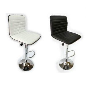 כסא בר מרופד חזק